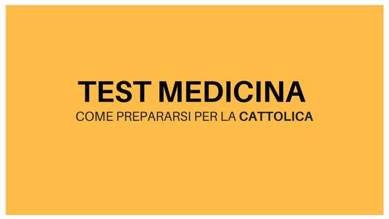 test medicina cattolica