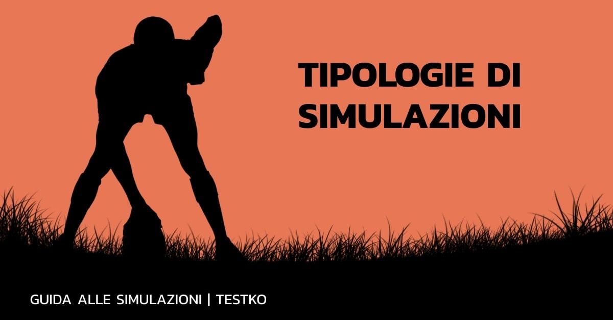simulazione test medicina tipologie